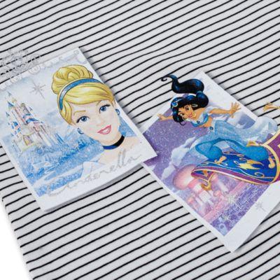 Camiseta infantil con fotos de princesas Disney
