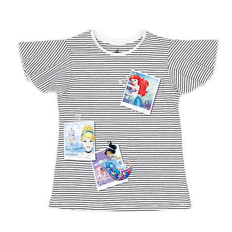 T-shirt Polaroid pour enfants, Disney Princesses