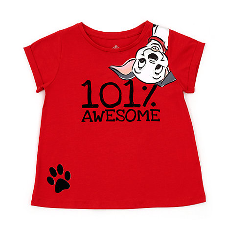 Camiseta infantil 101 Dálmatas