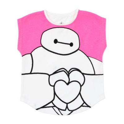 Camiseta infantil Baymax, Big Hero 6