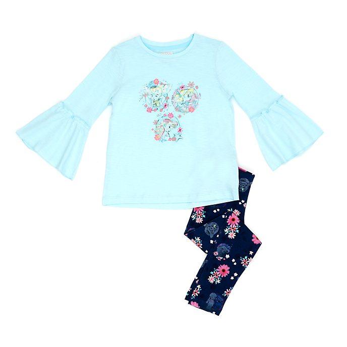 Conjunto infantil camiseta y leggings Colección Disney Animators