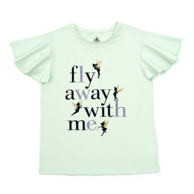 Camiseta infantil Campanilla ''Fly Away With Me''
