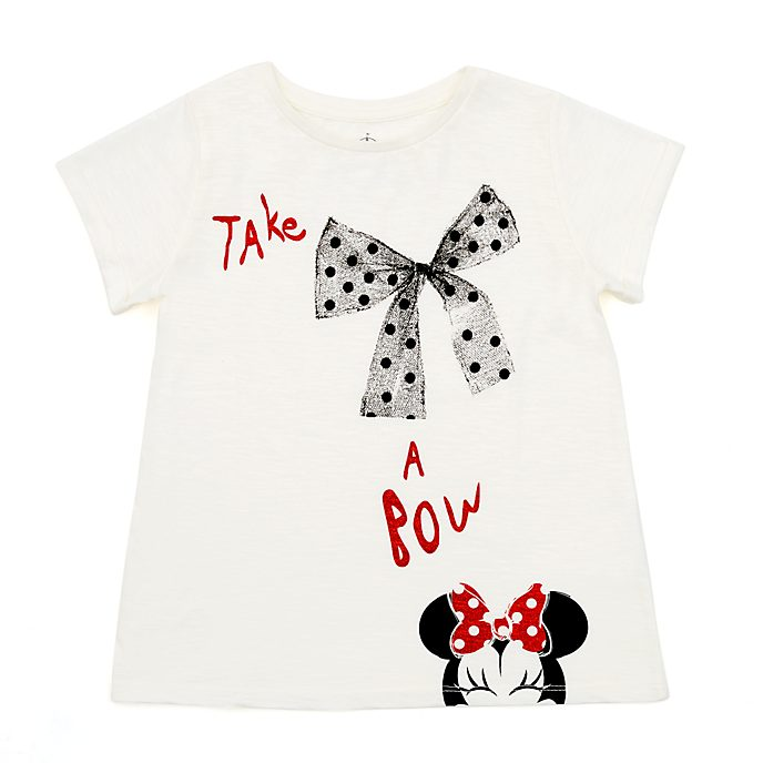 Minnie Mouse 'Take a Bow' T-Shirt For Kids