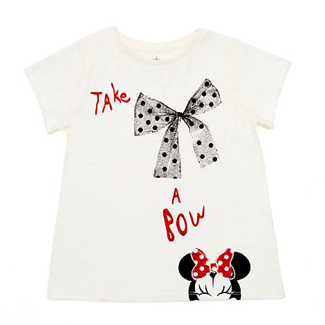 T-shirt Minnie Mouse pour enfants ''Take a Bow'''