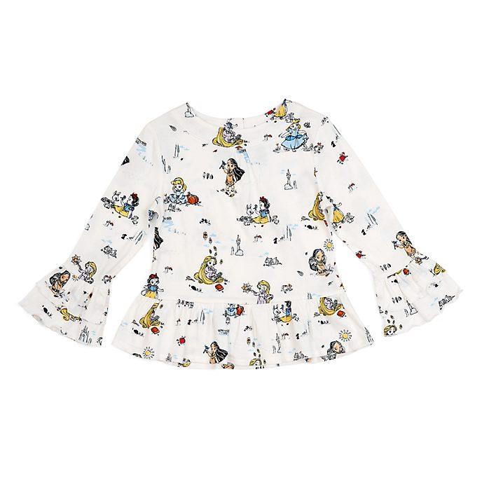 Disney Store Disney Animators' Collection Top For Kids