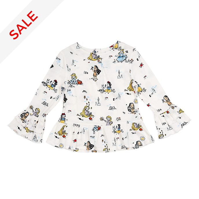 Disney Store Disney Animators' Collection Top For Kids