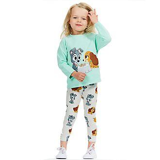 Pijamas infantiles La Dama y el Vagabundo, Disney Store