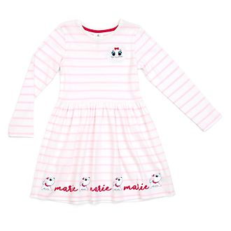 Disney Store Marie Furrytale Friends Dress For Kids