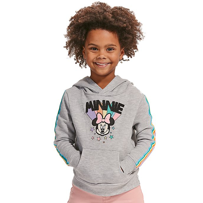 Disney Store Sweatshirt à capuche Minnie Mouse pour enfants