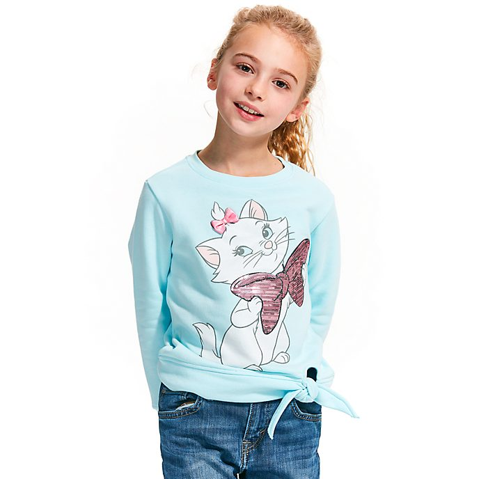 Disney Store Marie Sweatshirt For Kids, The Aristocats