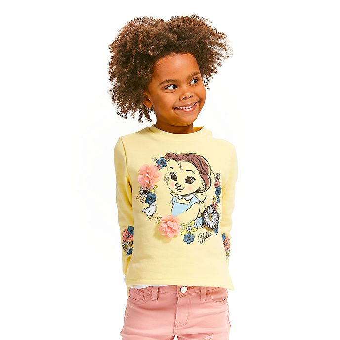 Disney Store Disney Animators' Belle Sweatshirt For Kids