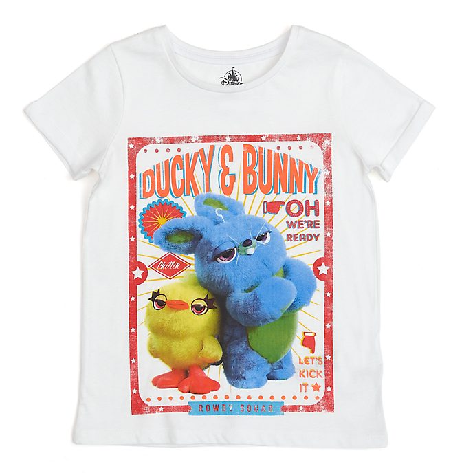 Disney Store Ducky and Bunny T-Shirt For Kids, Toy Story 4