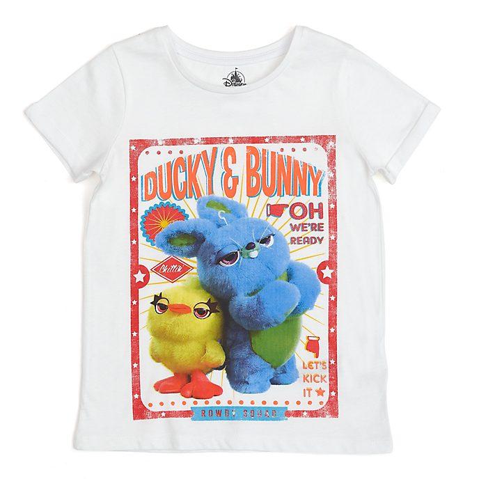 Camiseta infantil Patito y Conejito, Toy Story 4, Disney Store