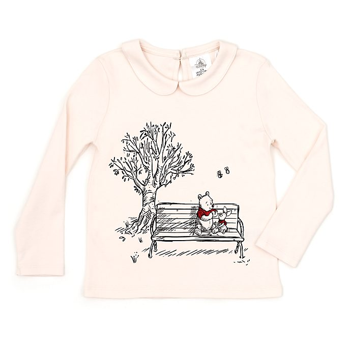 Disney Store Winnie the Pooh Top For Kids, Christopher Robin