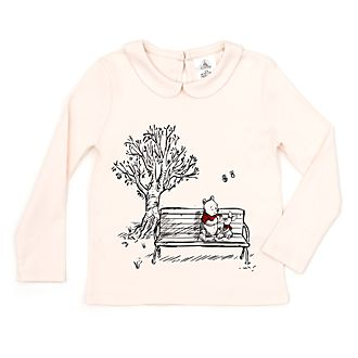Camiseta infantil Winnie the Pooh, Christopher Robin, Disney Store