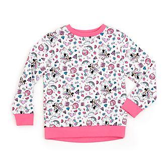 Disney Store Sweatshirt Minnie Mouse Licorne pour enfants