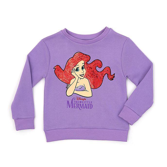efa55161e8f Disney Store The Little Mermaid Sweatshirt For Kids