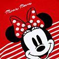 Maglietta bimbi annodata sul davanti Minni Rocks the Dots Disney Store