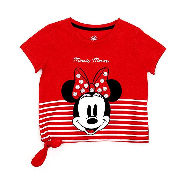 Camiseta con nudo frontal infantil Minnie Rocks the Dots, Disney Store