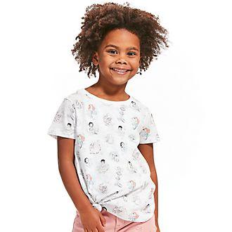 Camiseta infantil con nudo frontal colección Disney Animators, Disney Store