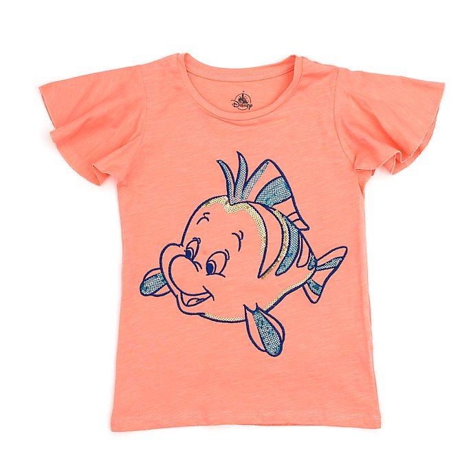 Camiseta infantil Flounder, Disney Store