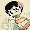 Maglietta bimbi Vaiana collezione Disney Animators, Disney Store