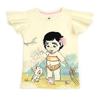 Disney Store Disney Animators' Collection Moana T-Shirt For Kids