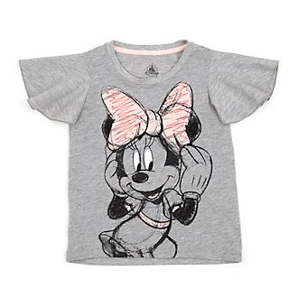 4d1ee3b910e Disney Store Minnie Mouse Grey T-Shirt For Kids