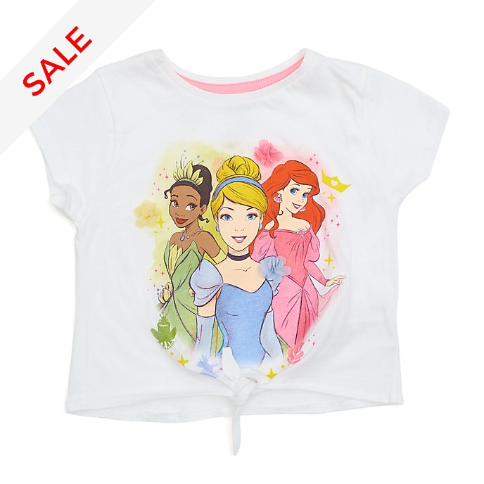 Disney Store Disney Princess Tie-Front T-Shirt For Kids