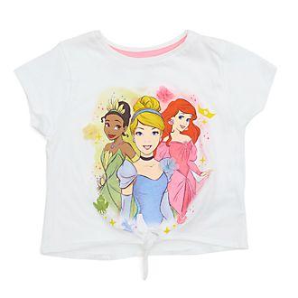 Disney Store - Disney Prinzessin - T-Shirt mit Band zum Knoten für Kinder