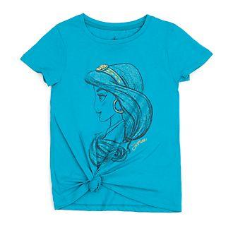 Disney Store - Prinzessin Jasmin - T-Shirt mit Band zum Knoten für Kinder