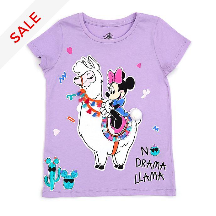 Disney Store - Minnie Maus - Lama T-Shirt für Kinder