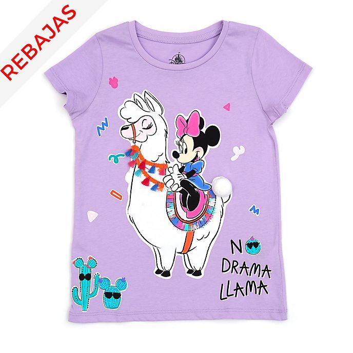 Camiseta infantil llama Minnie Mouse, Disney Store