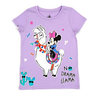 6c56fd06855 Disney Store Minnie Mouse Llama T-Shirt For Kids
