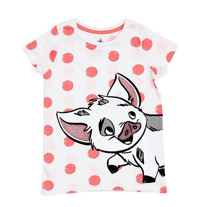 Camiseta infantil Pua, Disney Store