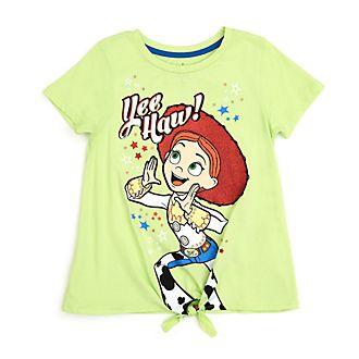 Camiseta infantil con nudo frontal Jessie, Disney Store