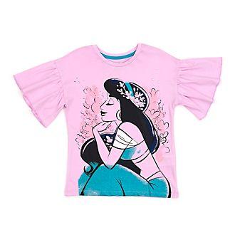Camiseta infantil con nudo delantero princesa Jasmine, Disney Store