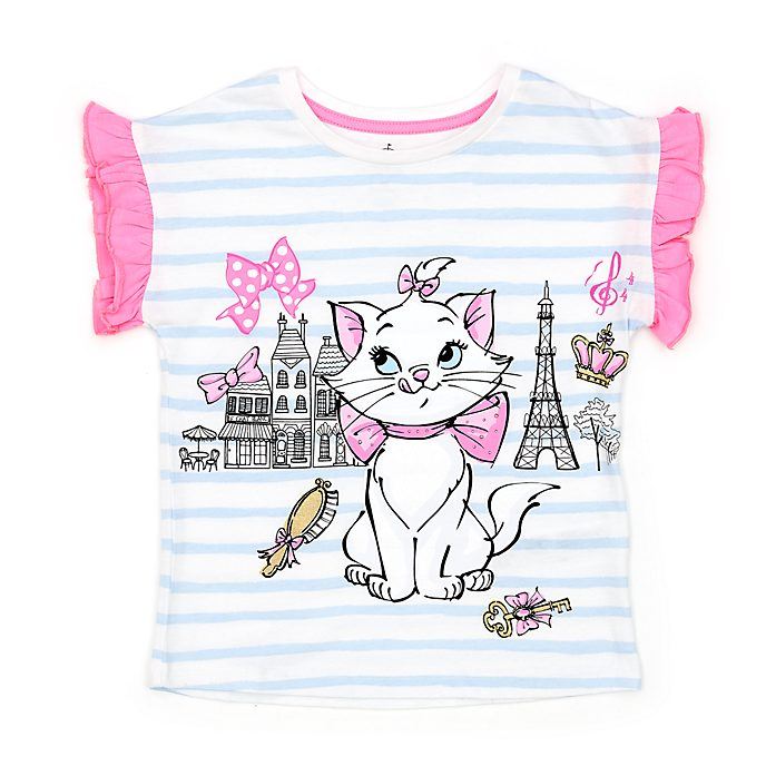 Disney Store Marie T-Shirt For Kids