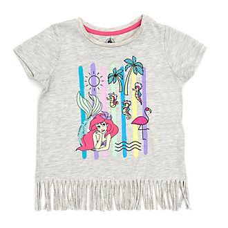 Disney Store - Arielle, die Meerjungfrau - T-Shirt mit Fransensaum für Kinder