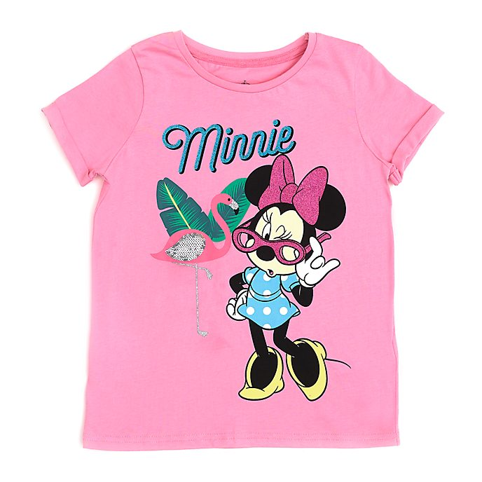 a3535a433a4e Disney Store Minnie Mouse Flamingo T-Shirt For Kids