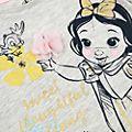 Camiseta infantil Blancanieves, colección Disney Animators, Disney Store