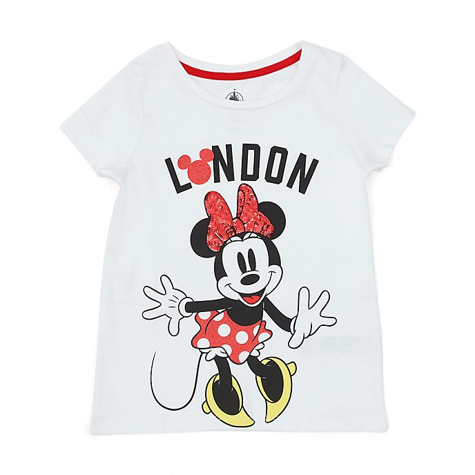 Disney Store Minnie Mouse London T-Shirt For Kids