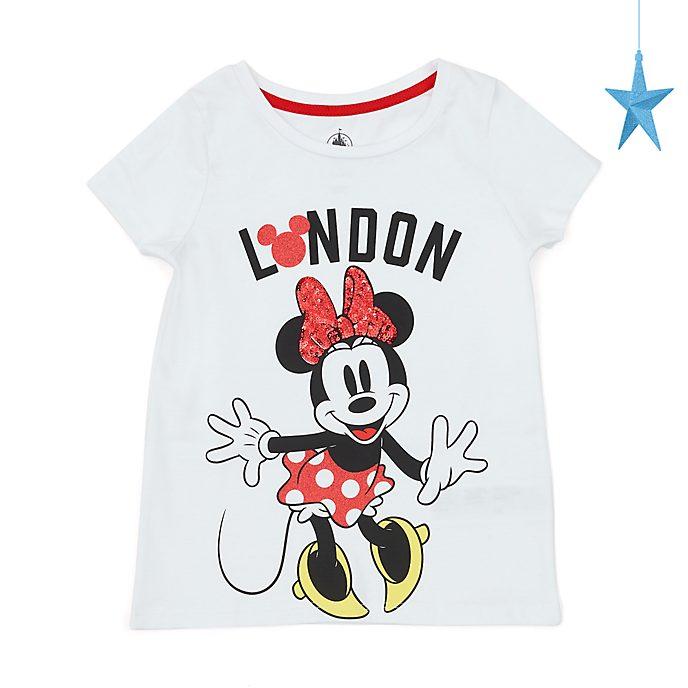 Camiseta infantil London Minnie Mouse, Disney Store