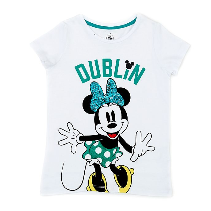 Disney Store Minnie Mouse Dublin T-Shirt For Kids
