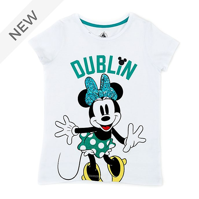 Disney Store Minnie Mouse Dublin T-Shirt For Kids