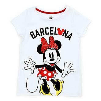 Disney Store T-shirt Minnie Barcelone pour enfants