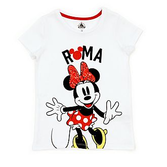 a5a87ec26c6e Disney Store Minnie Mouse Roma T-Shirt For Kids