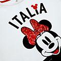 Disney Store T-shirt Minnie Italie pour enfants