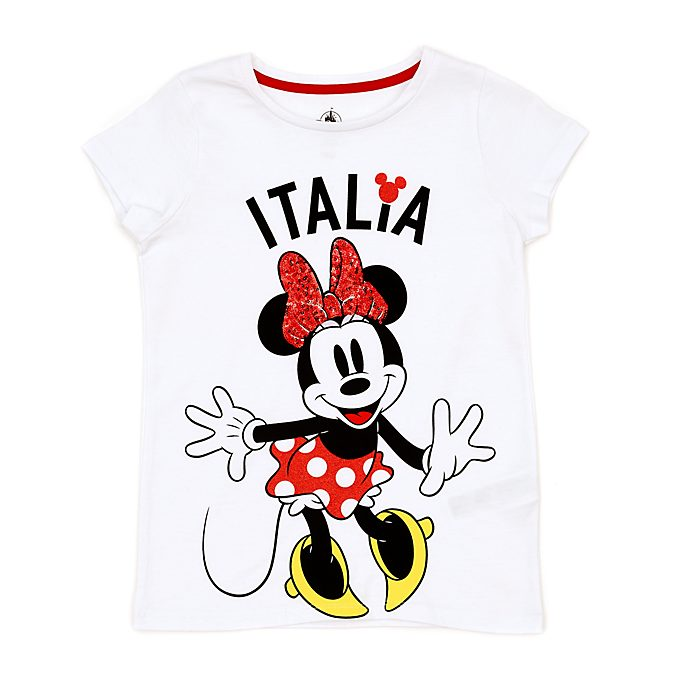 Camiseta infantil Italia Minnie, Disney Store
