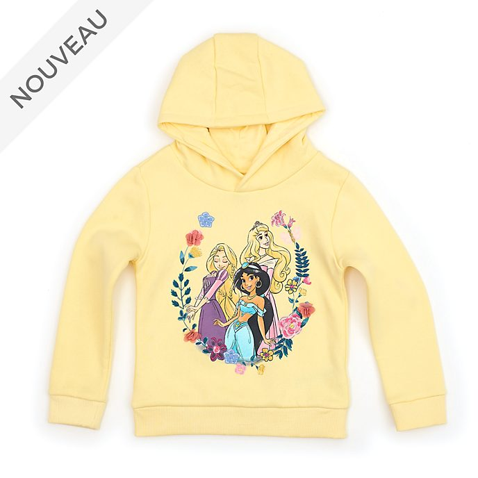Disney Store Sweatshirt Disney Princesses à capuche pour enfants